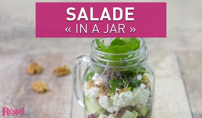 "Salade d'automne ""in a jar"" | regal.fr"