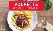 Boulettes de viande et sauce tomate   regal.fr