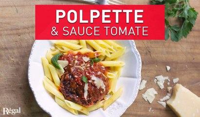 Boulettes de viande et sauce tomate | regal.fr
