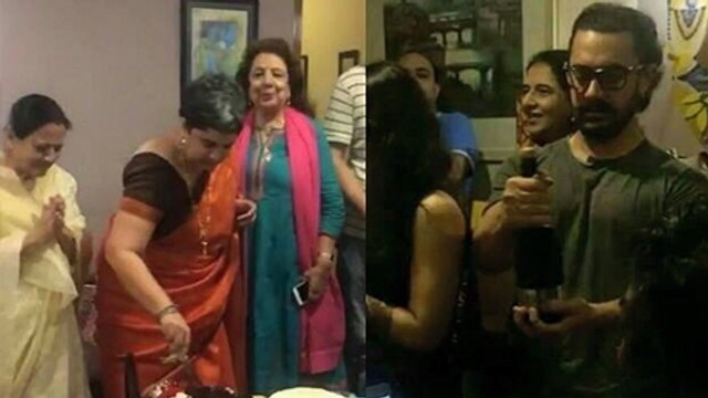 Aamir Khan Celebrates His Ex-Wife Reena Dutta's 50th Birthday