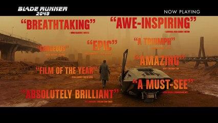 Blade Runner 2049 Blade Runner 2049 Official Trailer 2017- Now In Cinemas