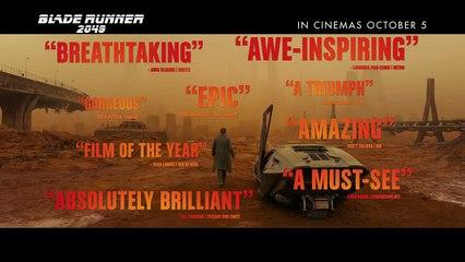 Blade Runner 2049 Official Trailer 2017-Blade Runner 2049 - In Cinemas October 5