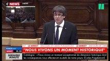 Ces quelques instants où les Catalans ont cru à l'indépendance