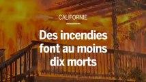 En Californie, les images aériennes des incendies dévastateurs