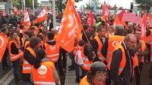 Forte mobilisation contre la réforme du travail
