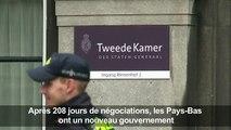 Pays-Bas: nouveau gouvernement après 208 jours de négociations