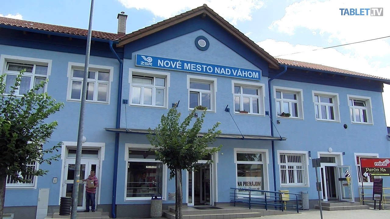Unikátny vlakový videoprojekt: Železničná stanica Nové Mesto nad Váhom