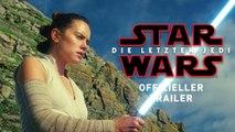 Star Wars: Die letzten Jedi - Offizieller Trailer (Deutsch | German) 2017