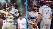 MLB postseason: Astros, Dodgers advance while Yankees surge