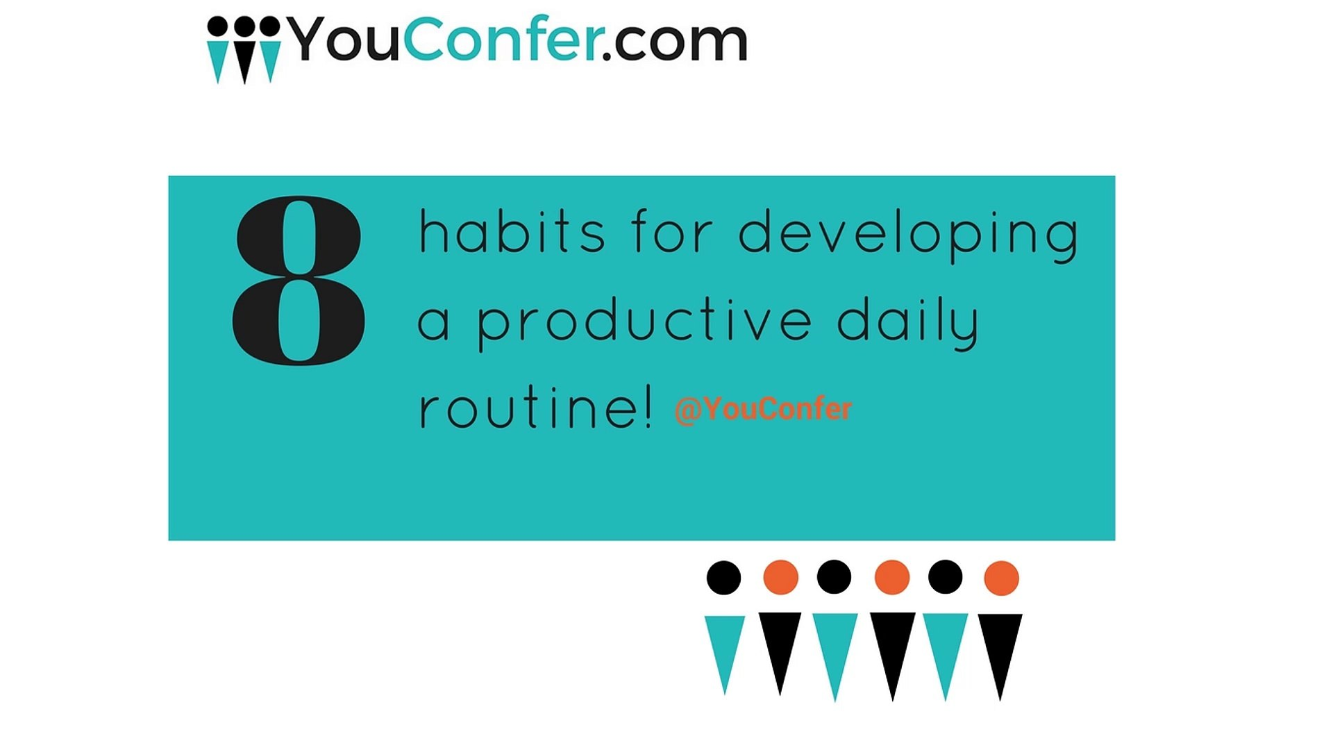 8 habits for developing a productive daily routine