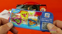 Holiday Maxi Surprise Kinder Egg - Opening Candy filled Lunch Box with Surprise Eggs!