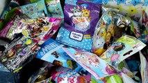 Random Blind Bag Box Episode #27 - Shopkins, Lego, Tsum Tsum Figural Keyring, Crystal Surprise