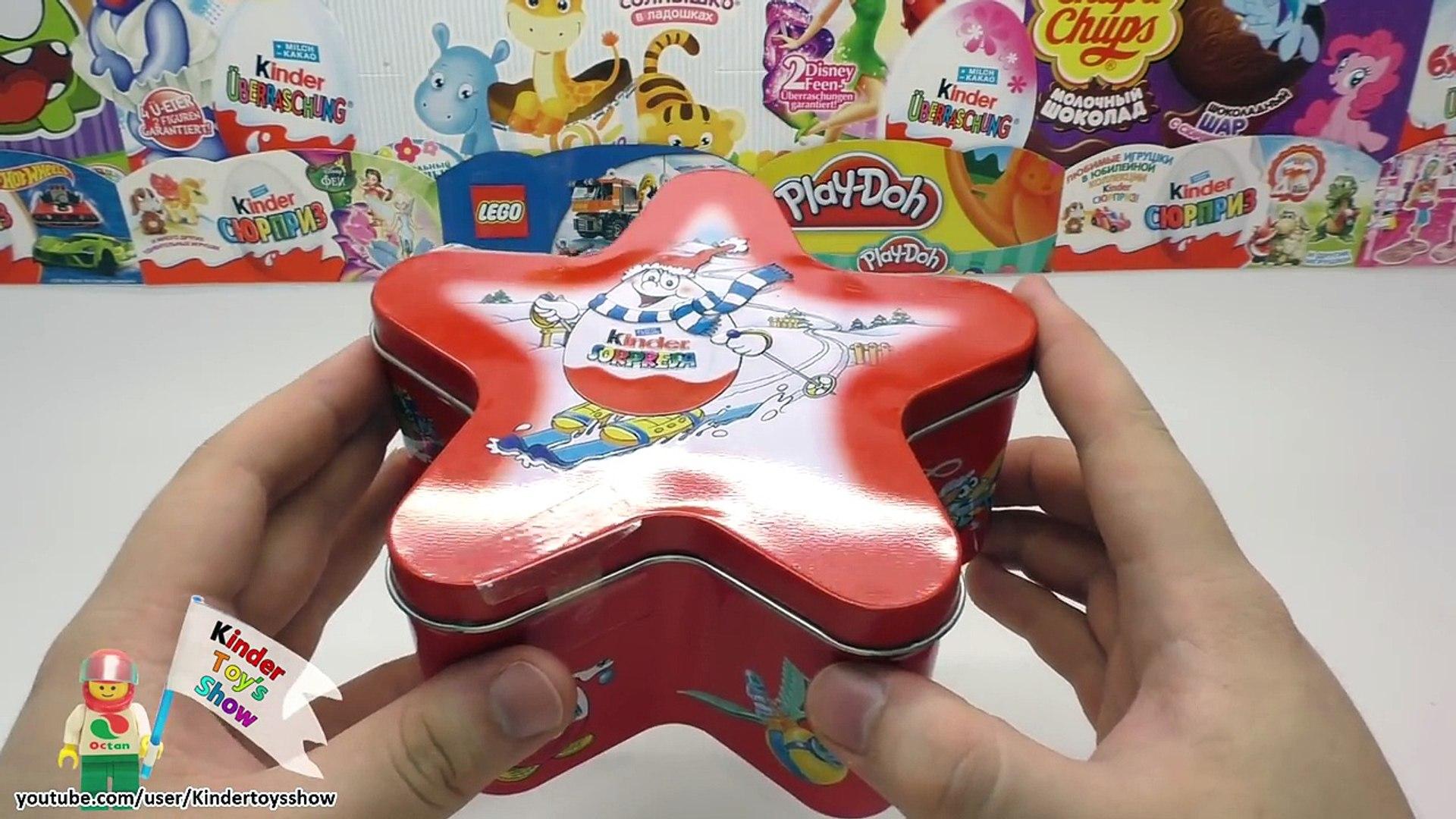 Набор Киндер Рождественская звезда, Киндер Сюрприз 2001 год Kinder Sopresa