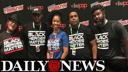Black Heroes Matter: A t-shirt that started a movement