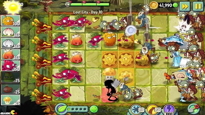 Plants vs Zombies 2 - Gameplay Walkthrough 8th World Lost