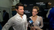 "Nick Lachey & Peta Murgatroyd Talk ""Emotional"" ""DWTS"" Dance"