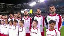 تقرير بين سبورت عن هزيمة سوريا أمام أستراليا 1-2 و تأهل أستراليا إلى الملحق العالمي 10-10-2017