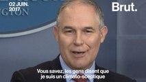 Qui est Scott Pruitt, directeur de l'Agence américaine pour la protection de l'environnement ?