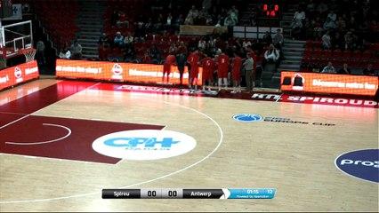 Proximus Spirou Charleroi B - Telenet  Giants Antwerp part 1