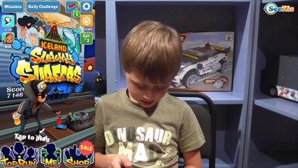 Серферы Метро Новая игра от Игорька Развлечения для детей Subway Surfers Games for Kids