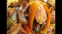 CHICKEN FAJITA (Made at Home) - How to make CHICKEN FAJITA recipe