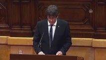Katalonya, Bağımsızlık İlanını Askıya Aldı - Barselona
