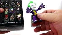 Batman Arkham Knight Mystery Minis Surprise Batman Toys ft. Joker & Scarecrow PART 1