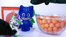 PJ Masks Gekko Teen Titans Go Dory Play-Doh DIY Cubeez Toy Surprise Learn Colors