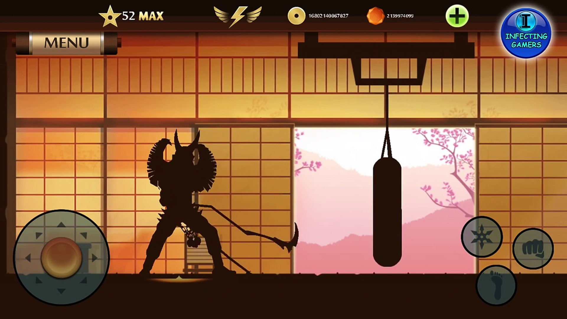 Shadow Fight 2 - Unlocking, Equiping and Upgrading All Weapon And Ranged Weapon(Act 3 )