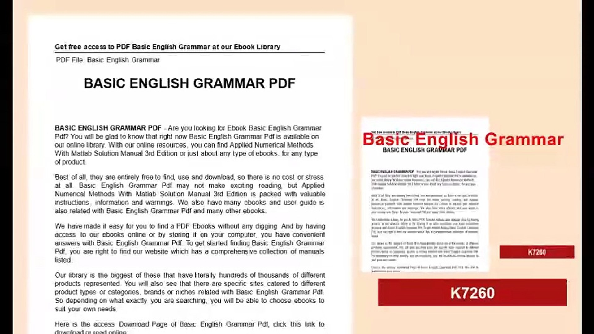 English Grammar Just For You Pdf Download
