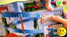TRAINS FOR CHILDREN VIDEO: Thomas and Friends Playset Thomas & Percys Raceway, Toys Review