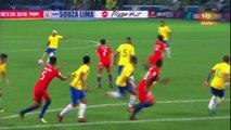Buts Brésil 3-0 Chili résumé de match