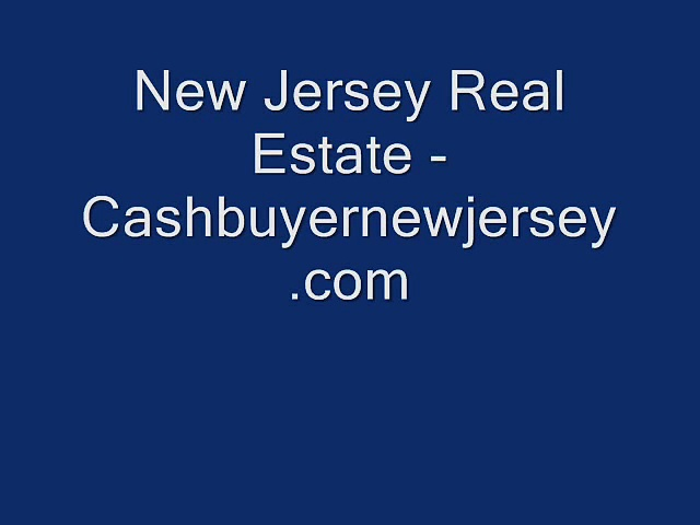 New Jersey Real Estate – Cashbuyernewjersey.com