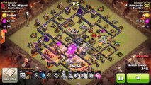 How to Penta LaLoon (Penta Lavaloon) at TH9 in Clash of Clans