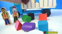 Learning for Children and Toddlers Learn Shapes Shape Sorter Dump Truck Toys for Kids ABC Surprises