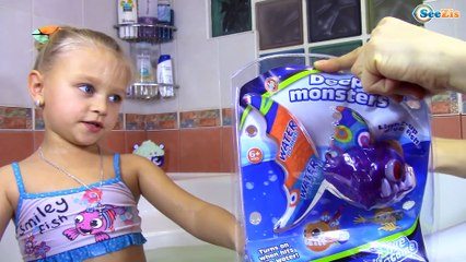 Игрушки для ванной Рыбки для детей Обзор и Распаковка от Ярославы Видео для детей Bath Toys for Kids
