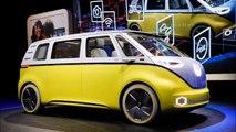 2017 VW Melahirkan Bus Keluarga COMBI VW I D BUZZ Mewah Terkesan Retro