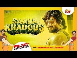 Saala Khadoos |R. Madhavan | Mumtaz Sorcar |  Ritika Singh | Directed by Sudha Kongara Prasad
