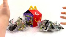 2016 TMNT McDonalds Happy Meal Toys COMPLETE SET of 8 Ninja Unboxing Toy Review TheToyReviewer