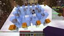 BUILD BATTLE - Building Ice Castles and Birthday Challenge - Minecraft