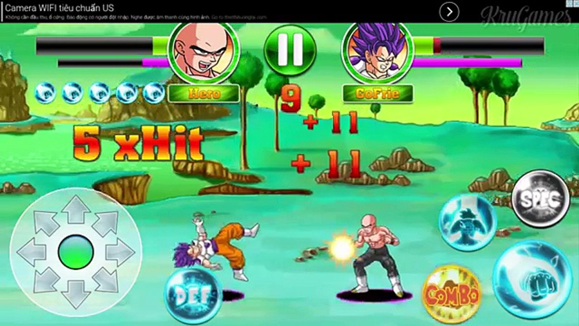 Create Dragon Z Saiyan Warrior Android Gameplay