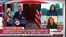 Stephanie Ruhle: Tillerson Didn't Call Trump a Moron, He Called Him a F*cking Moron