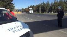 Gaziantep'te Jandarma ve Polis Birlikte Trafik Uygulaması Yaptı