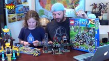 LEGO Chima The Croc Swamp Hideout Review Legends of Chima - LEGO 70014