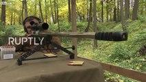 Tir à 4210 mètres : record du monde de sniper en Russie ! 13 secondes de durée de vol de la balle !