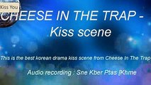 NEW LUNAR 2018 - Cheese In The Trap - Korean drama kiss scene   Best Kiss Korean Drama