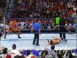 Batista s first batista bomb on Smackdown