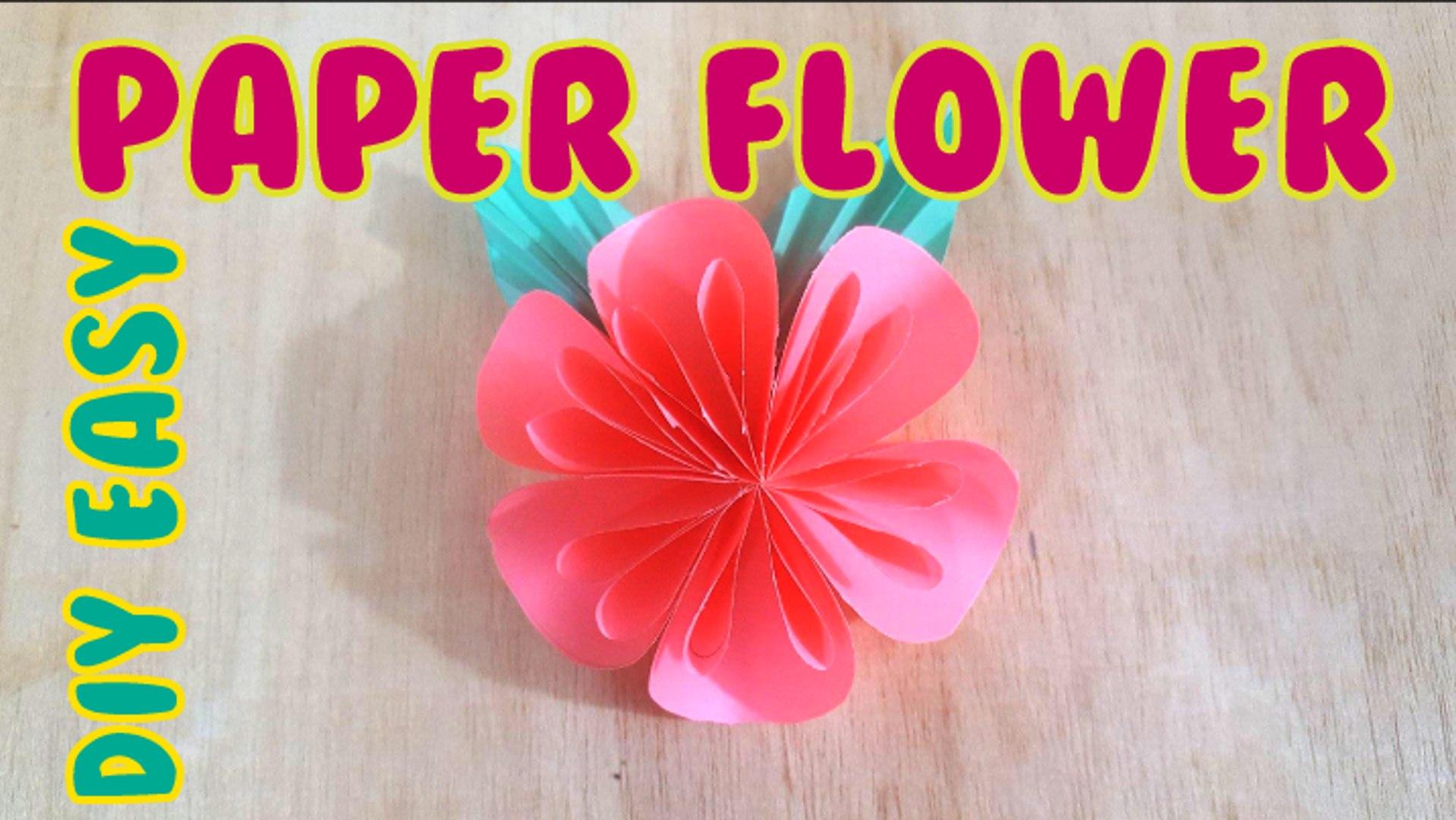 Easy Diy Easy Paper Flower Paper Flower Paper Flower Quilling Paper Flower Wall Paper Flower 3d