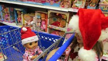 Christmas Shopping with Baby Alive at ToysRUS before Black Friday