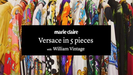 MarieClaire - Versace in 5 pieces with William Vintage